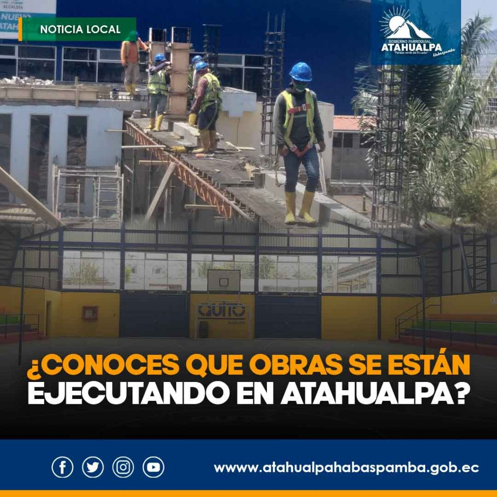 GAD Atahualpa Habaspamba Obras