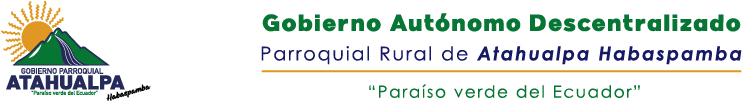 GAD Parroquial Atahualpa Habaspamba logo