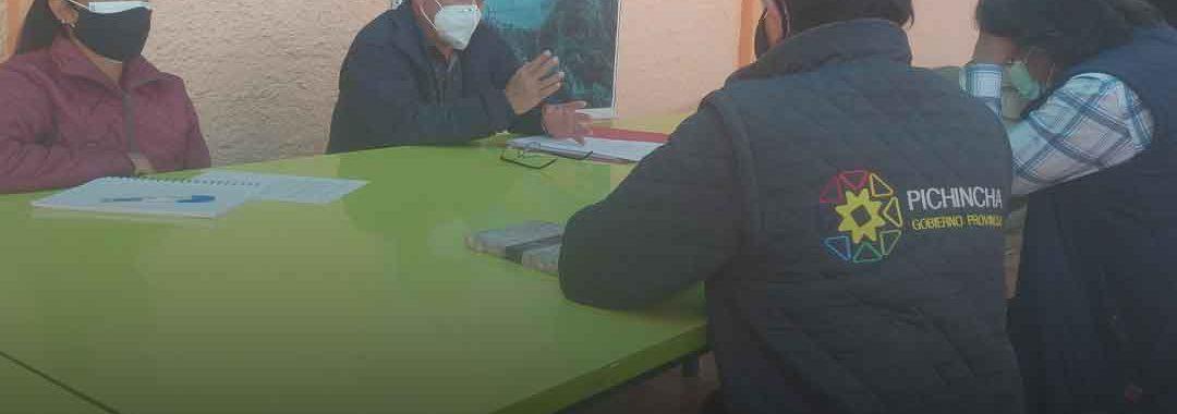 Acuerdos de trabajo en Atahualpa Habaspamba